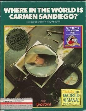 The original Where in the World is Carmen Sandiego?