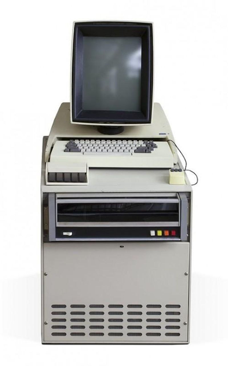 PARC's Alto computer was one of the first with a bit-mapped display  and a mouse.