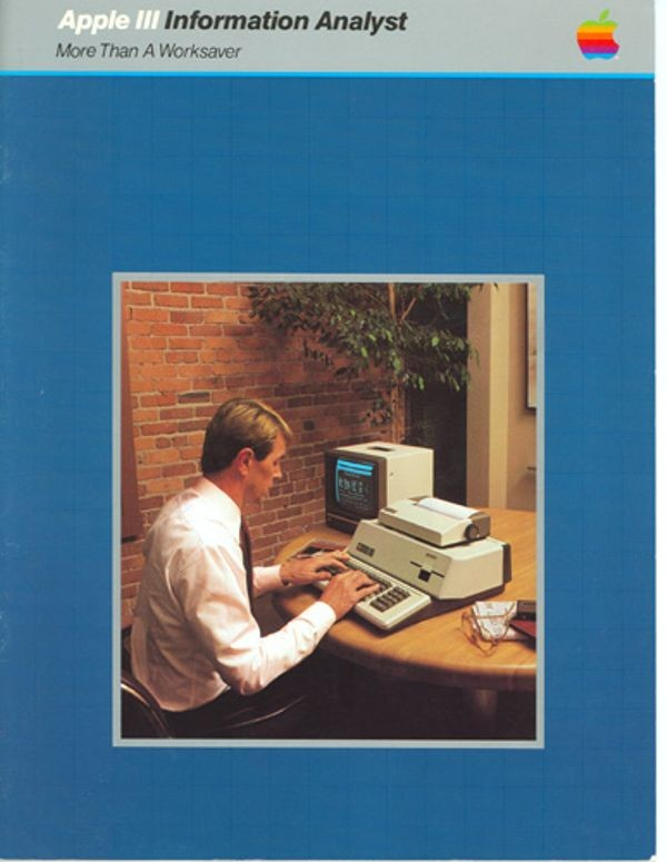 Apple III Information Analyst More Than a Worksaver