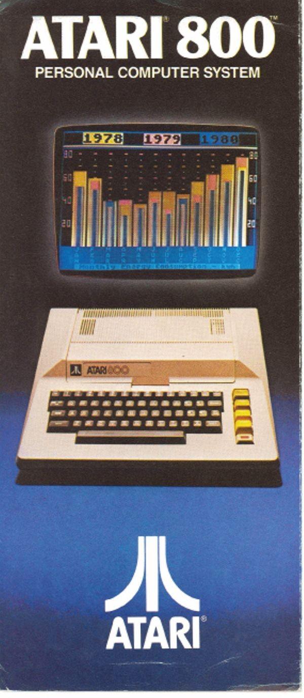 Atari 800 Personal Computer System