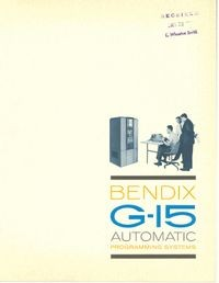 BENDIX G-15 Automatic Programming Systems