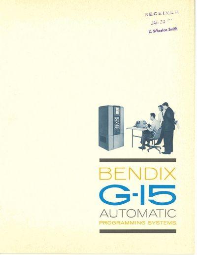 BENDIX G-15 Automatic Programming Systems