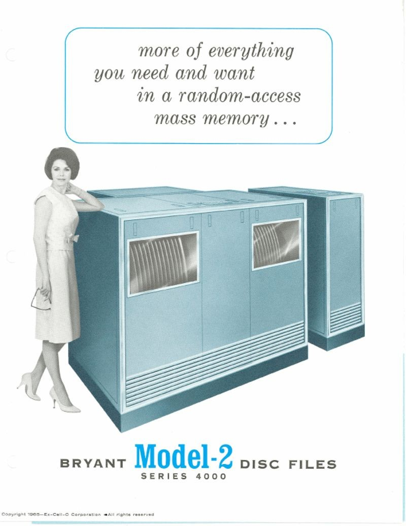 Bryant Model-2 Series 4000 Disc Files
