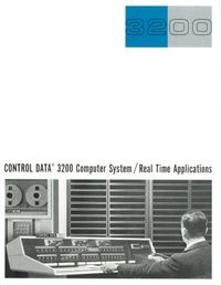 Control Data 3200 Computer System/ Real Time Applications