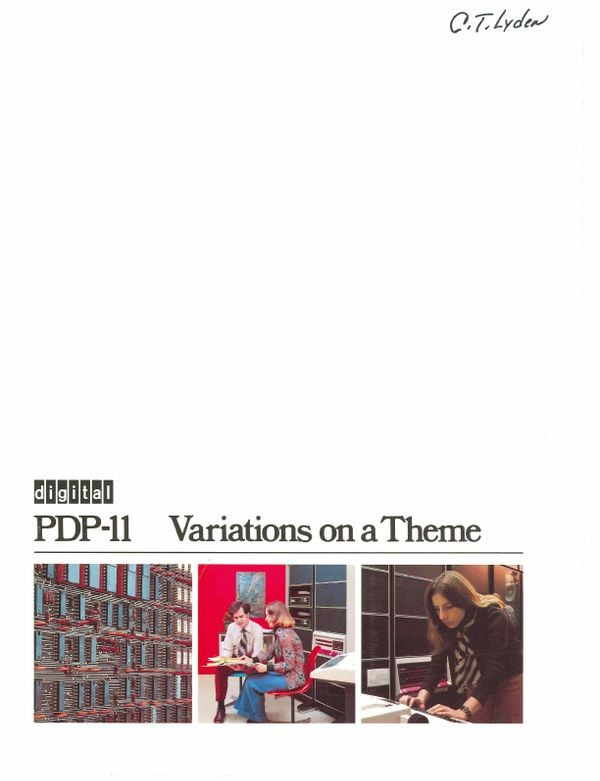 PDP-11 Variations on a Theme
