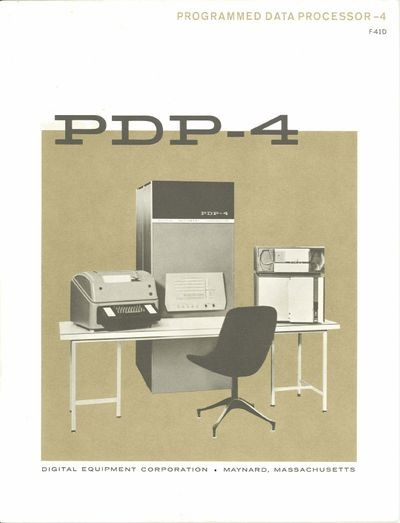 Programmed Data Processor - 4