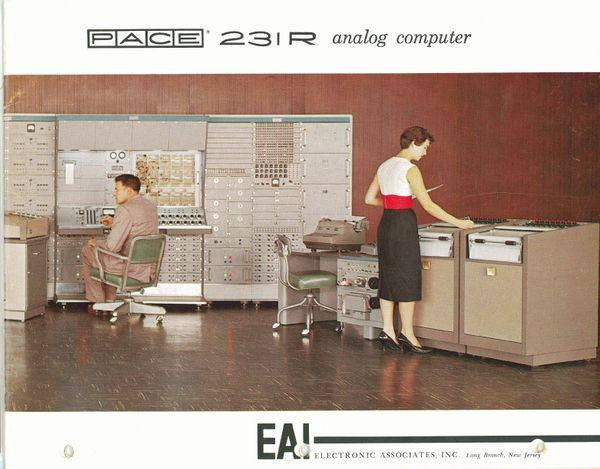 Pace 231R Analog Computer