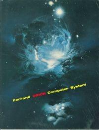 Ferranti Orion Computer System