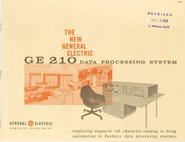 The New General Electric GE 210 Data Processing System