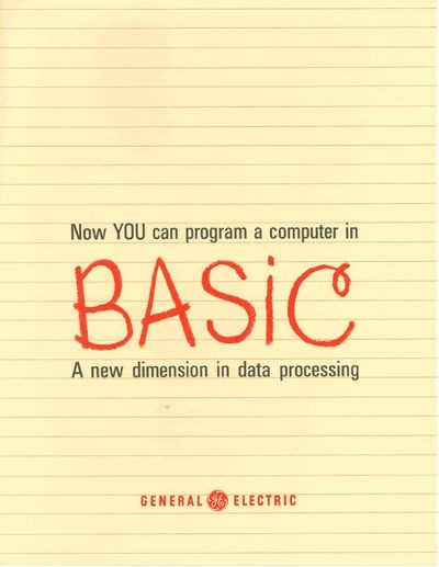 Now YOU Can Program a Computer in BASIC A New Dimension in Data Processing