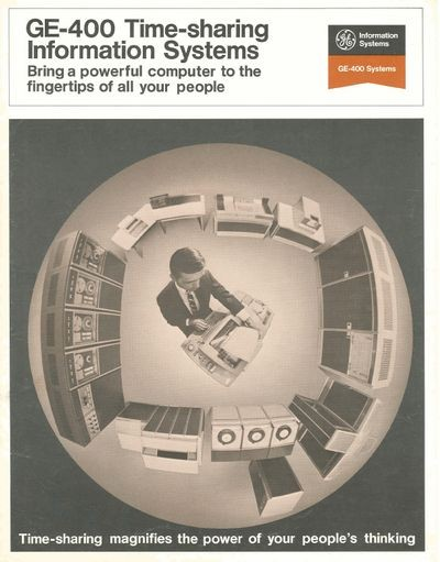 GE-400 Time-sharing information systems: Bring a powerful computer to the   fingertips of all your people