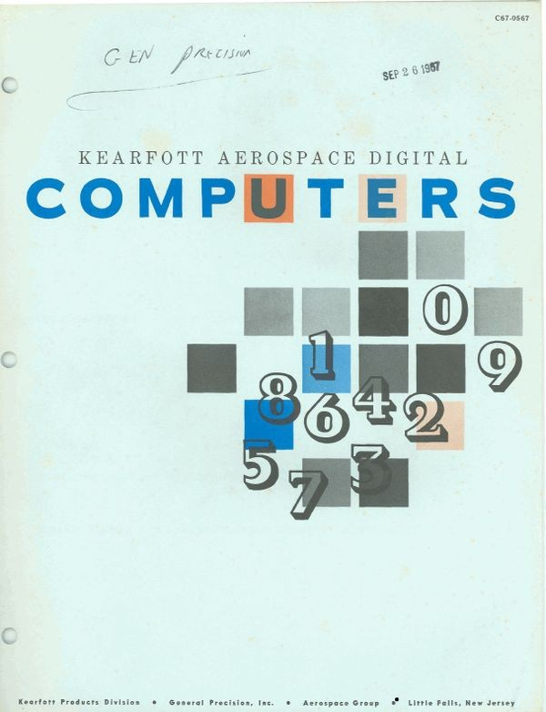 Kearfott Aerospace Digital Computers