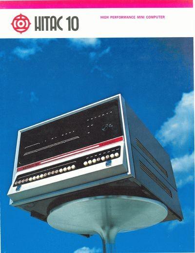 HITAC 10 High Performance Mini Computer