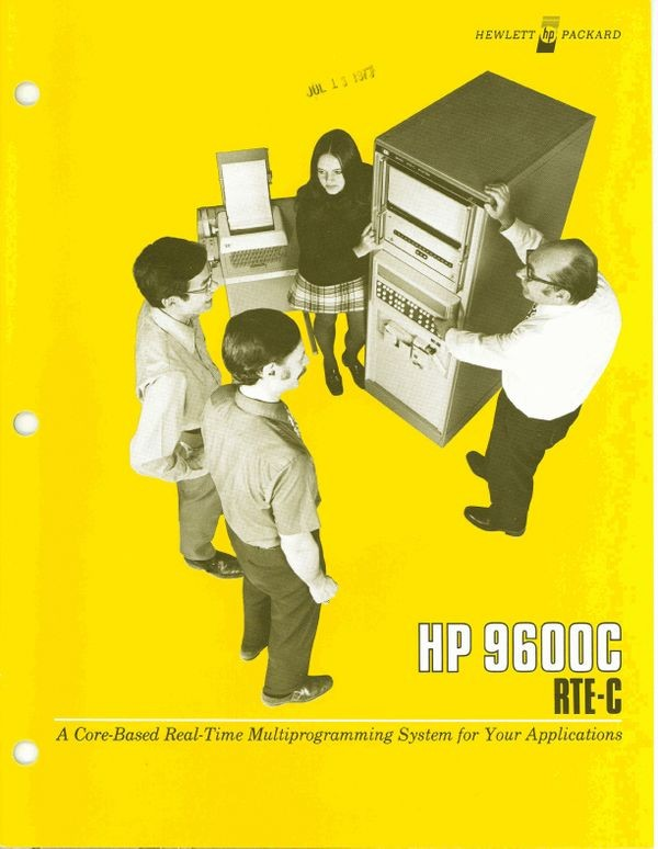 HP 9600C RTE-C: A Core-Based Real-time Multiprogramming System for your Applications