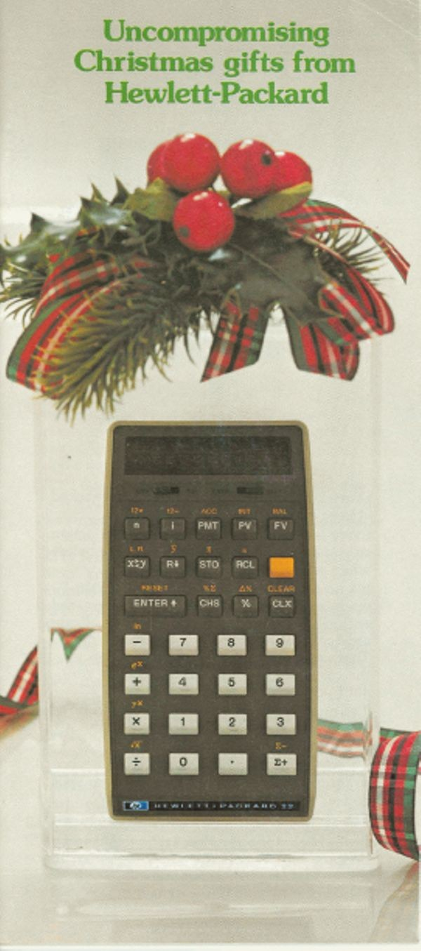 Uncompromising Christmas Gifts from Hewlett-Packard