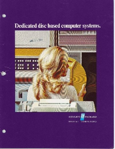 Dedicated Disc Based Computer Systems