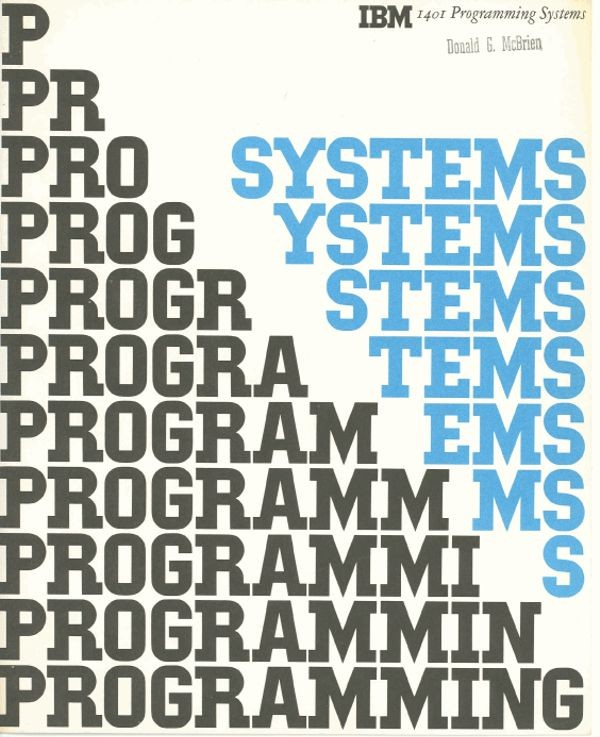 IBM 1401 Programming Systems