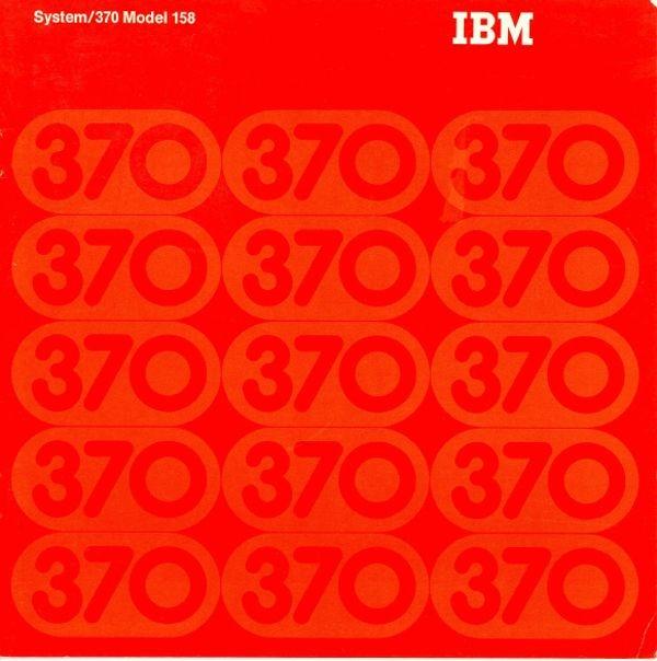 IBM System/370 Model 158