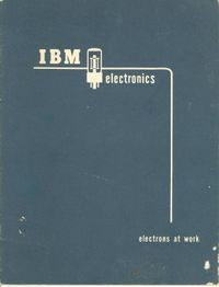 IBM Electronics: Electronics at Work