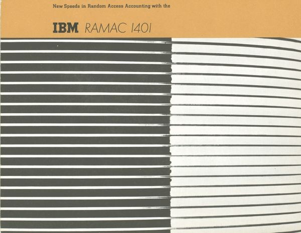 New speeds with Random Access Accounting with the IBM RAMAC 1401