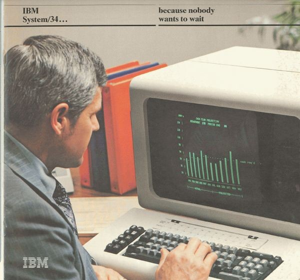 IBM System/34...Because Nobody Wants to Wait