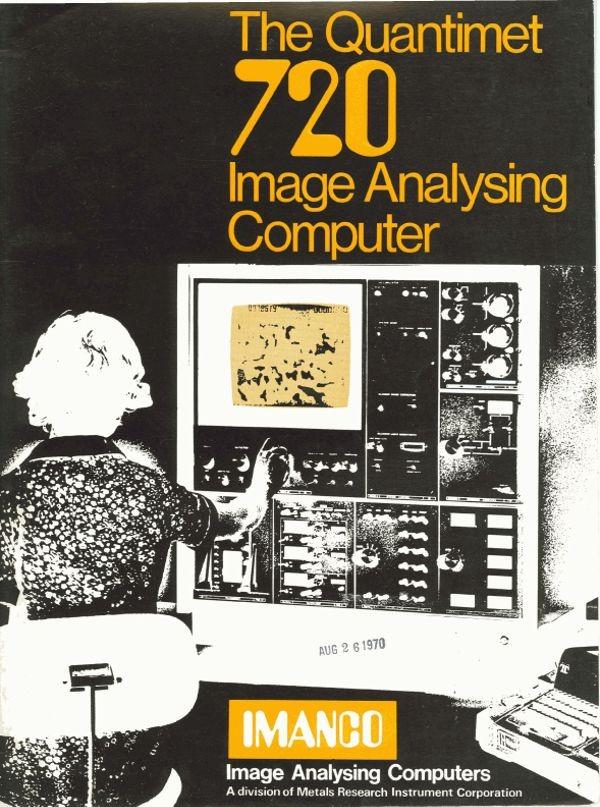 The Quantimet 720 Image Analysing Computer