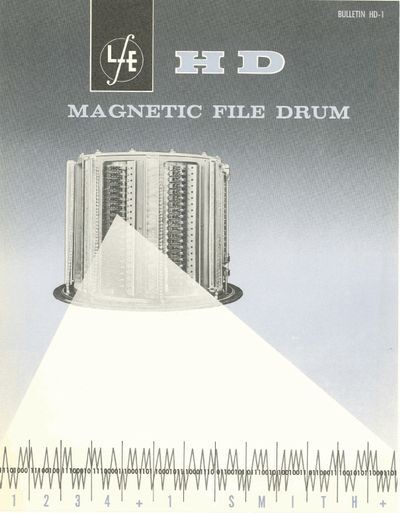 HD Magnetic File Drum