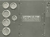 Litton LC-728 Digital Computer: A computer meeting military requirements   and offering high performance at low cost.
