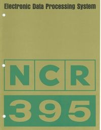 NCR 395 Electronic Data Processing System