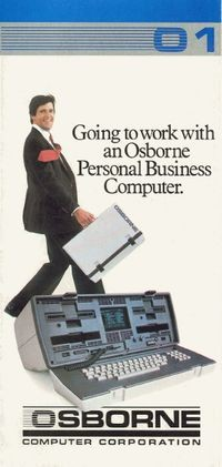 Going to Work with an Osborne Personal Business Computer