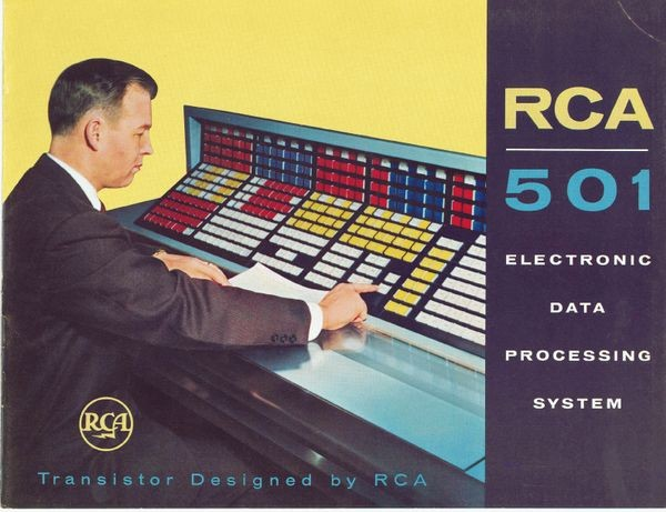 RCA 501 Electronic Data Processing System