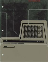 RCA Spectra 70: Data gathering system