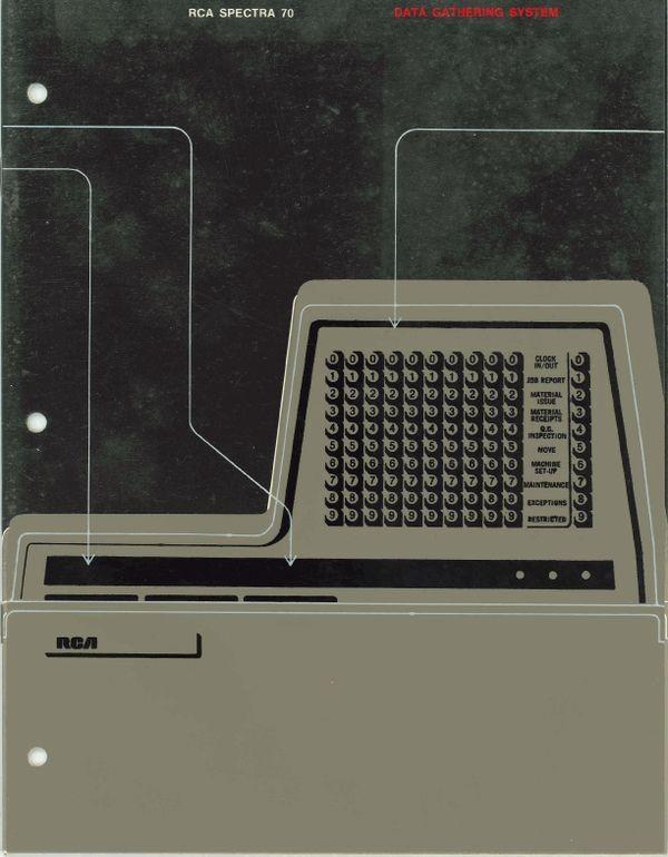 RCA Spectra 70: Data gathering system