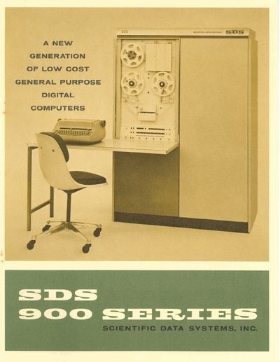 SDS 900 Series: A new generation of low cost general purpose digital   computers