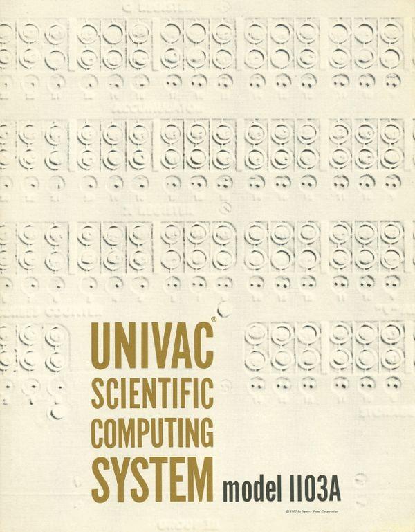 Univac Scientific Computing System Model 1103A