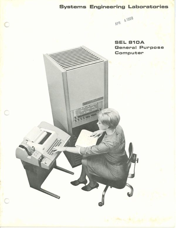 SEL 810A General Purpose Computer