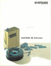 SYSTEMS 86 Software