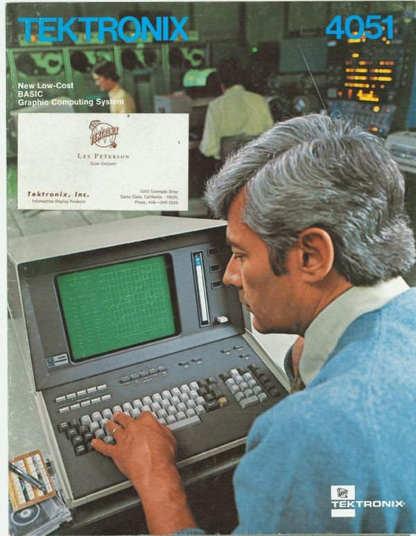 Tektronix 4051: New Low-Cost BASIC Graphic Computing System
