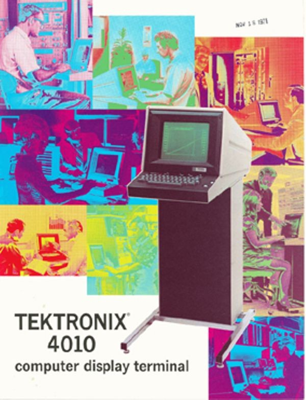 Tektronix 4010 Computer Display Terminal