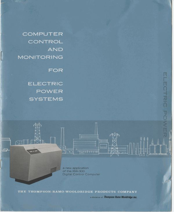 Computer Control and Monitoring for Electric Power Systems