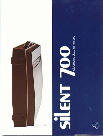 Silent 700 Electronic Data Terminals