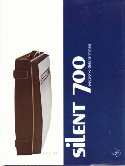 Silent 700 Electronic Data Terminals