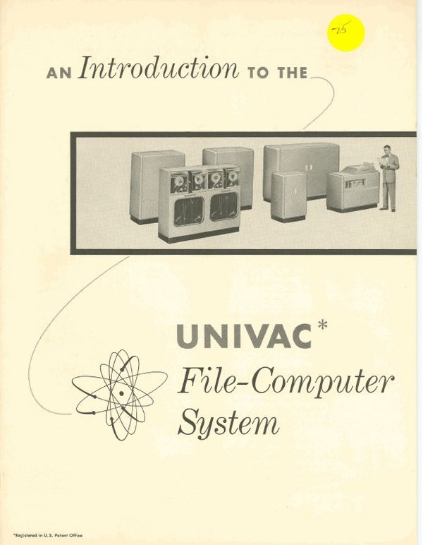 An Introduction to the UNIVAC File-Computer System
