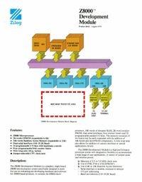 Z8000 Development Module