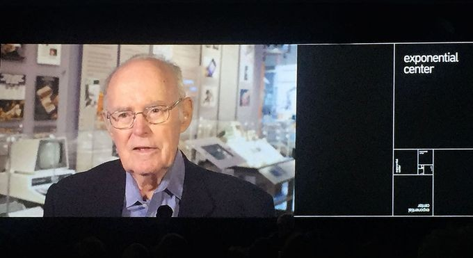 "2016 honoree Gordon Moore, Fairchild and Intel co-founder, reflects on contributions as an ""accidental entrepreneur"""
