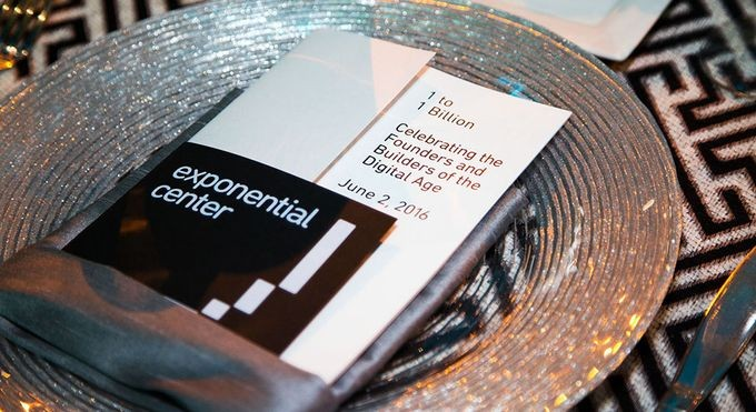 Exponential Center launch gala program