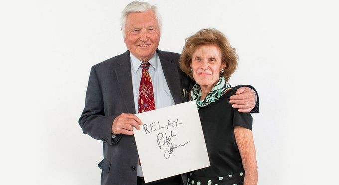 "Pioneering venture capitalist ""Pitch"" Johnson and wife Cathie offer advice for entrepreneurs: ""Relax."""
