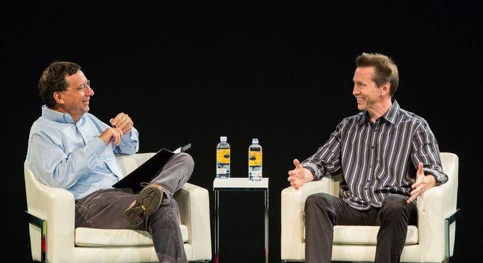 Scott Forstall reminisces about developing the original iPhone, his time at Apple, and Steve Jobs with John Markoff.