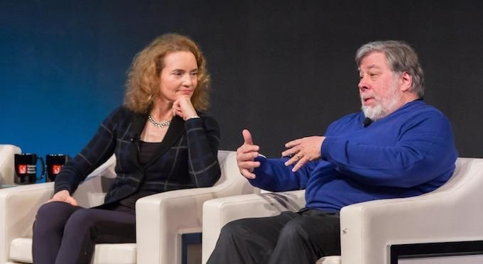 "Kim Polese listens as Steve ""Woz"" Wozniak weighs in on  Silicon Valley, Apple, and much more."