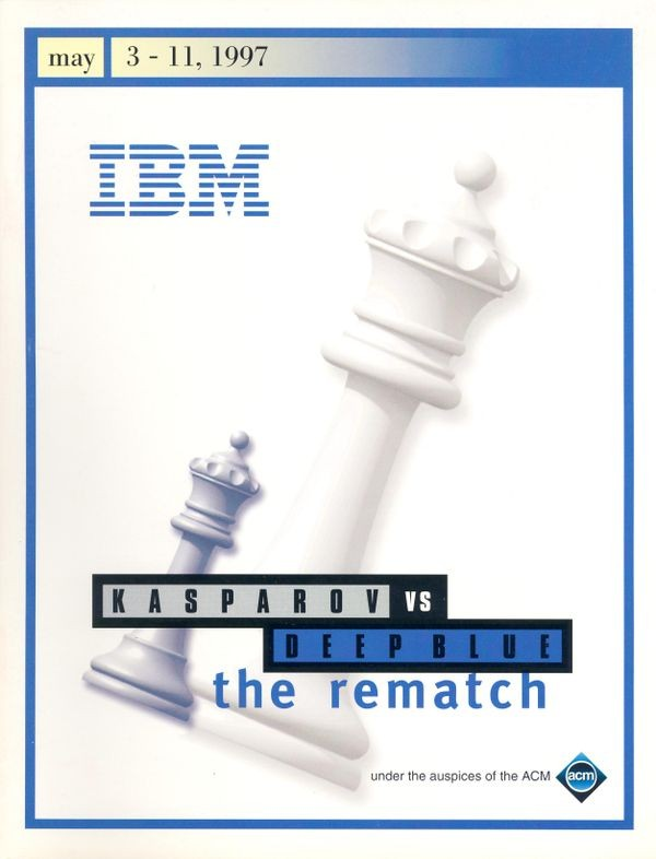 Kasparov vs Deep Blue: the Rematch